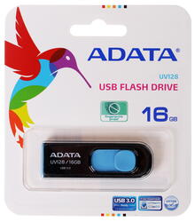 Память USB Flash A-Data DashDrive UV128 AUV128-16G-RBE 16 Гб