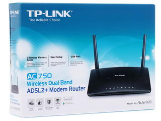 Маршрутизатор ADSL2+ TP-LINK Archer D20