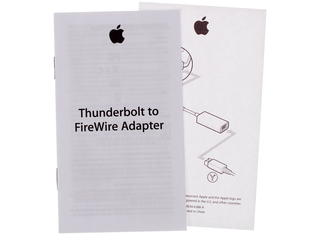 Переходник Apple Thunderbolt - FireWire IEEE 1394