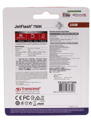 Память USB Flash Transcend JetFlash 790K 32 Гб
