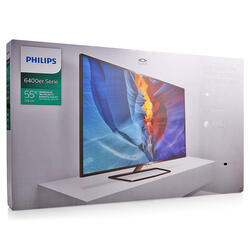 "55"" (139 см)  LED-телевизор Philips 55PUT6400 черный"