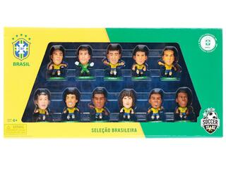 Набор фигурок Soccerstarz - South America: Brazil Player team pack