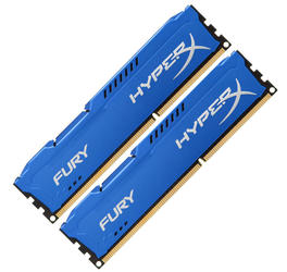 Оперативная память Kingston HyperX FURY Blue Series [HX318C10FK2/16] 16 Гб