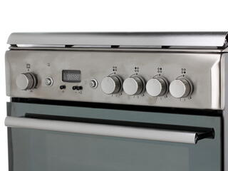 Газовая плита Hotpoint-Ariston H6GG5F (X) RU серебристый