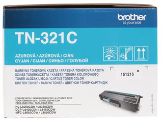 Картридж лазерный Brother TN-321C