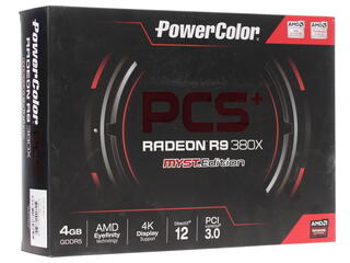 Видеокарта PowerColor AMD Radeon R9 380X PCS+ [AXR9 380X 4GBD5-PPDHE]