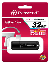 Память USB Flash Transcend JetFlash 700 32 Гб