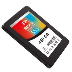 480 Гб SSD-накопитель SiliconPower Slim S55 [SP480GBSS3S55S25]