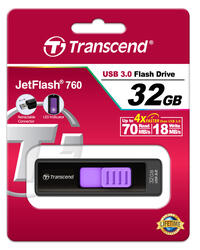 Память USB Flash Transcend JetFlash 760 32 Гб