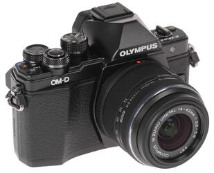 Камера со сменной оптикой Olympus OM-D E-M10 MarkII kit 14-42mm IIR Black