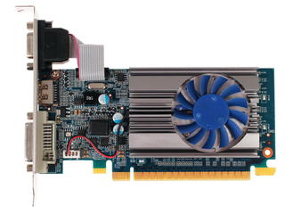 Видеокарта KFA2 GeForce GT 710 LP [71GGH4HXJ4FN]
