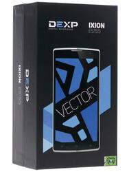 "5.5"" Смартфон DEXP Ixion ES155 Vector 8 Гб белый"