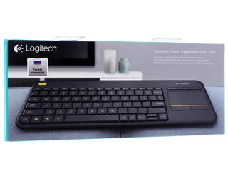 Клавиатура Logitech Wireless Touch Keyboard K400 Plus
