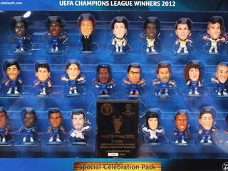 Набор фигурок Soccerstarz - Chelsea: Champions League Celebration 2012 Team Pack