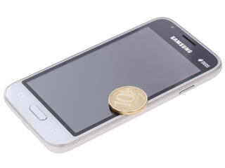 "4"" Смартфон Samsung SM-J105H Galaxy J1 mini 8 Гб белый"
