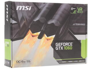 Видеокарта MSI GeForce GTX 1060 OC [GTX 1060 6GT OC]
