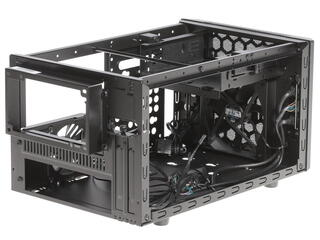 Корпус CoolerMaster Elite 130 черный