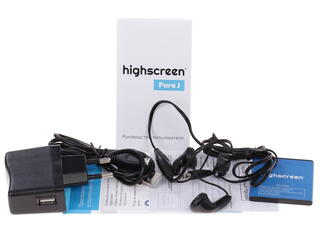 "3.5"" Смартфон Highscreen Pure J 512 Мб голубой"