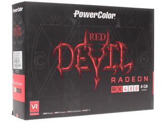 Видеокарта PowerColor AMD Radeon RX 480 Red Devil [AXRX 480 8GBD5-3DH/OC]