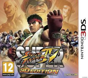 Игра для 3DS Super Street Fighter IV: 3D Edition