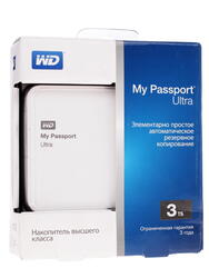 "2.5"" Внешний HDD WD My Passport Ultra [WDBNFV0030BWT]"