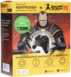 Геймпад Microsoft XboxONE Shadow Fight 2 черный