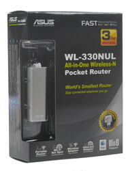 Маршрутизатор ASUS WL-330NUL