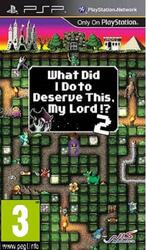 Игра для PSP What Did I Do to Deserve This, My Lord!? 2