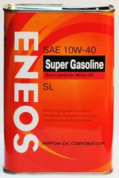 Моторное масло ENEOS SUPER Gasoline Semisynthetic 10W40 OIL1357