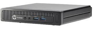 ПК HP ProDesk 600 mini PC P G3220T/4Gb/500Gb/Free DOS/клавиатура/мышь