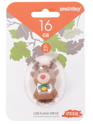 "Память USB Flash Smartbuy Wild Series ""Deer"" 16 Гб"
