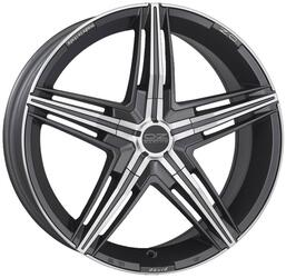 Автомобильный диск Литой OZ Racing David 8x18 5/120 ET 40 DIA 79 Matt Graphite Diamond Cut