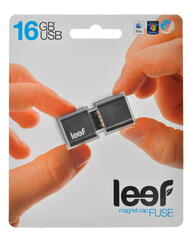 Память USB Flash Leef Fuse Charcoal 16 Гб