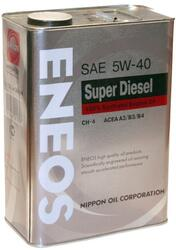 Моторное масло ENEOS SUPER Diesel Synthetic 5W40 OIL1338