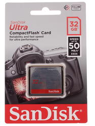 Карта памяти Sandisk ULTRA Compact Flash 32 Гб
