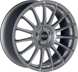 Автомобильный диск Литой OZ Racing Superturismo LM 8x18 5/108 ET 38 DIA 75 Matt Race Silver + Black Lettering