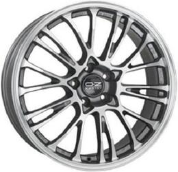 Автомобильный диск Литой OZ Racing Botticelli 8,5x19 5/120 ET 34 DIA 79 Grigio Corsa Diamant