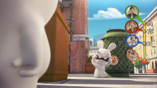 Игра для PS4 Rabbids Invasion