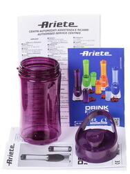 Блендер Ariete blender drink and go фиолетовый