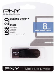 Память USB Flash PNY Attache 4 8 Гб