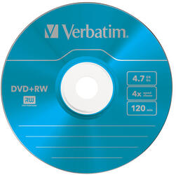 Диск Verbatim DVD+RW Colours 4.7Gb