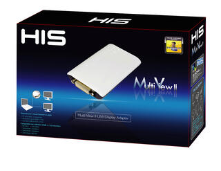 Видеокарта внешняя HIS MULTI-VIEW II USB Adapter (HMV2-MAC-PC)