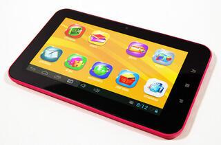 "7"" Детский Планшет TurboKids 2.0 8Gb Pink 800x480/TFT/1.0 Ghz/512 Mb/Cam0,3/Android 4.1"