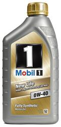 Моторное масло MOBIL 1 NEW LIFE 0W40 152080