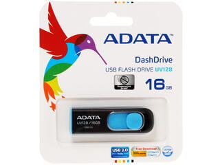 Память USB Flash A-Data AUV128-16G-RBE 16 Гб