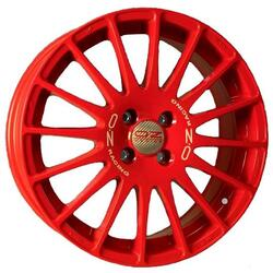 Автомобильный диск Литой OZ Racing Superturismo Serie Rossa 7x17 4/100 ET 40 DIA 68 RED