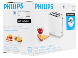 Тостер Philips HD2595/00 белый