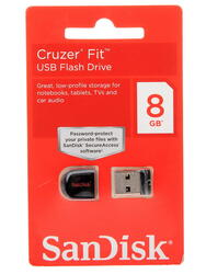 Память USB Flash SanDisk Cruzer Fit 8 Гб