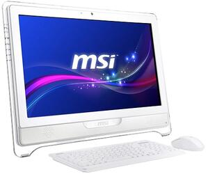 "21.5"" Моноблок MSI AC7812-008 (FHD/Touch) Core i3-3220(3.3 GHz)/4GB/Intel HD Graphics 200/500GB/Cam/DVDRW/WiFi/KB+M/W7HP"