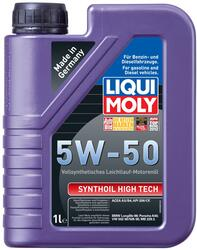Моторное масло LIQUI MOLY Synthoil High Tech 5W50 9066, полиальфаолефин